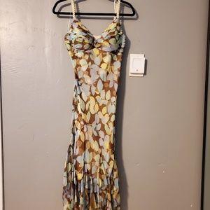 Flattering flowy dress